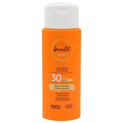 BONTE leche protectora solar efecto satinado spf 30 bote 250 ml