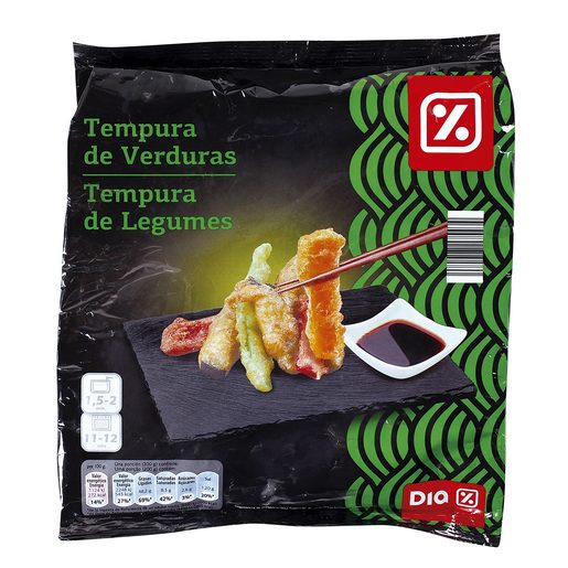 DIA tempura de verduras bolsa 400 gr