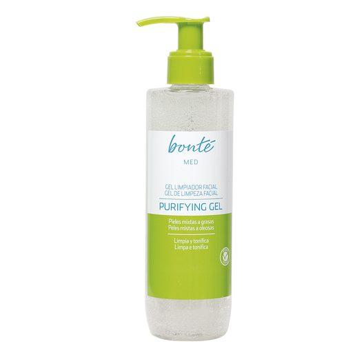 BONTE gel limpiador facial pieles mixtas a grasas dosificador 250 ml