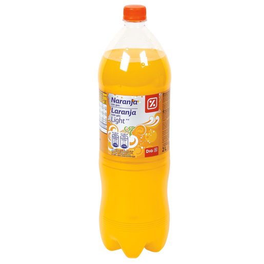 DIA naranja con gas light botella 2 lt