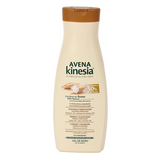 KINESIA gel de ducha con serum de avena bote 650 ml