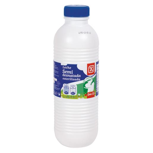DIA leche semidesnatada botella 1.5 lt