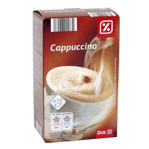 DIA café cappuccino caja 10 sobres 125 gr