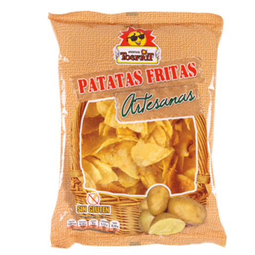 TOSFRIT patatas fritas artesanas bolsa 160 gr