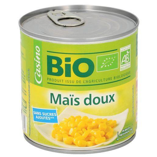 CASINO BIO maíz dulce lata 285 gr
