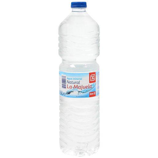 DIA agua mineral natural botella 1.5 lt