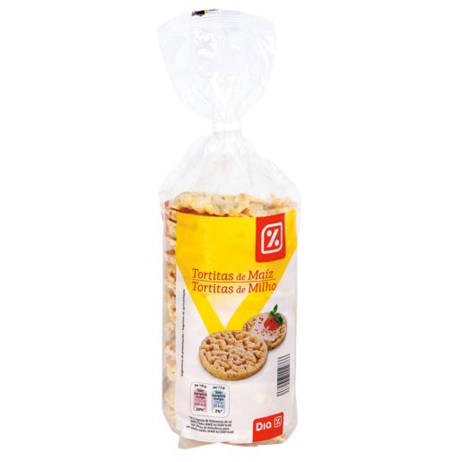 DIA tortitas de maiz paquete 130 gr