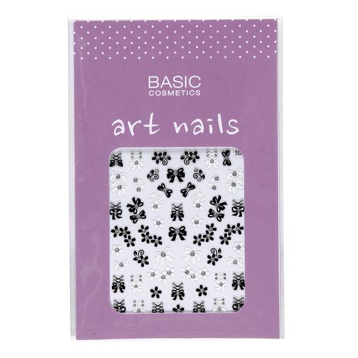 BASIC decoración de uñas Nº 2 Lazos y Flores