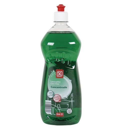 DIA lavavajillas mano concentrado botella 1 lt