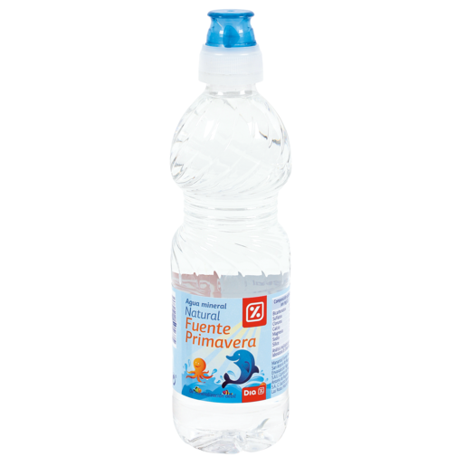 DIA agua mineral natural botella 33 cl