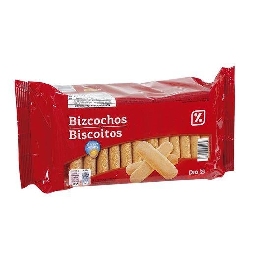 DIA galletas de bizcocho con huevo paquete  400 grs