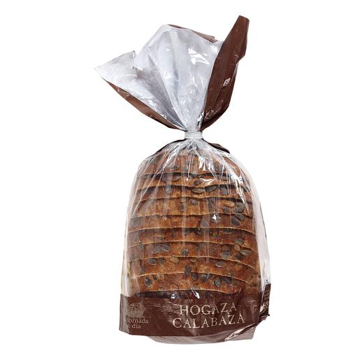 Hogaza pan de molde calabaza bolsa 500 gr