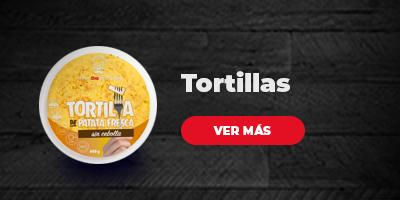 Compra tortillas preparadas sin salir de casa en DIA