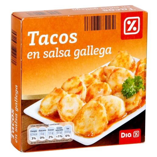 DIA tacos en salsa gallega lata 168 grs