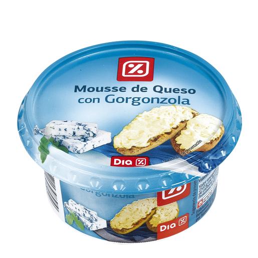 DIA mousse de queso con gorgonzola tarrina 150 gr