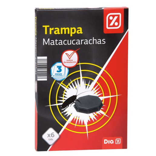 DIA insecticida trampa cucarachas caja 6 uds