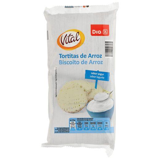 DIA tortitas de arroz bañadas yogur paquete 130 gr