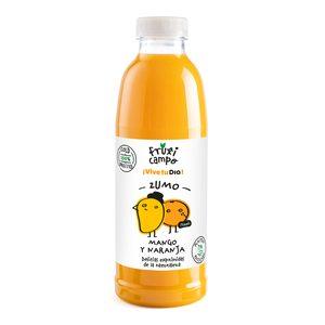 DIA FRUTICAMPO zumo de mango y naranja botella 750 ml