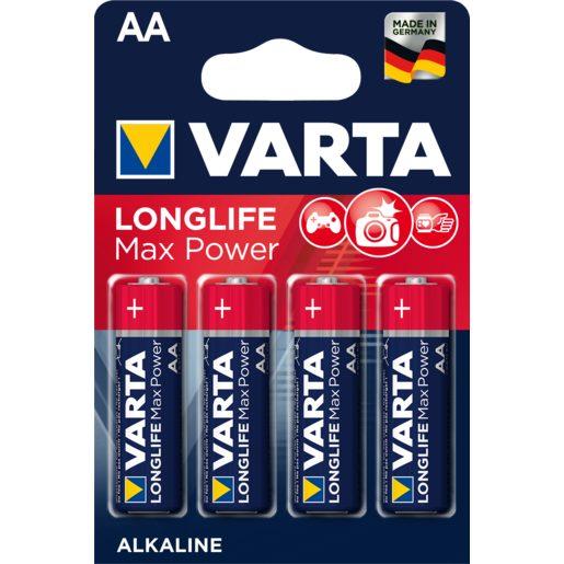 VARTA Max tech pila alcalina AA LR6 BL N blíster 4 uds