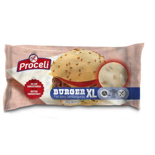 PROCELI pan de hamburguesa SIN GLUTEN bolsa 180 gr