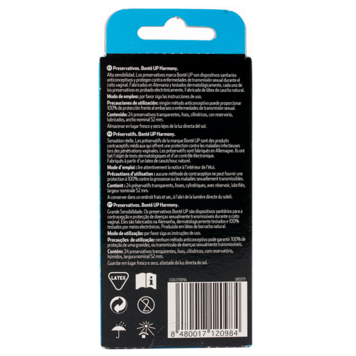 BONTE preservativo ultrasensitivo harmony caja 24 uds