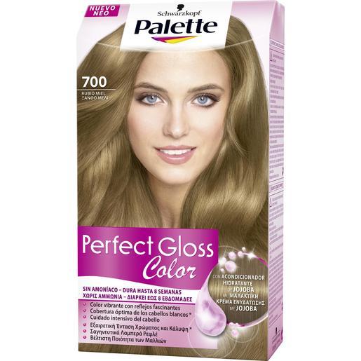 PALETTE PERFECT GLOSS tinte Rubio Miel Nº 700 caja 1 ud