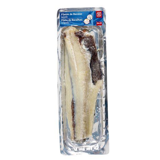 DIA filetón de bacalao salado envase 500 gr