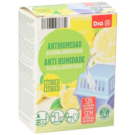 DIA antihumedad aroma cítrico recambio 1 ud