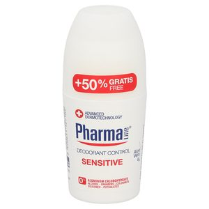 PHARMALINE desodorante sensitive roll on 50 ml