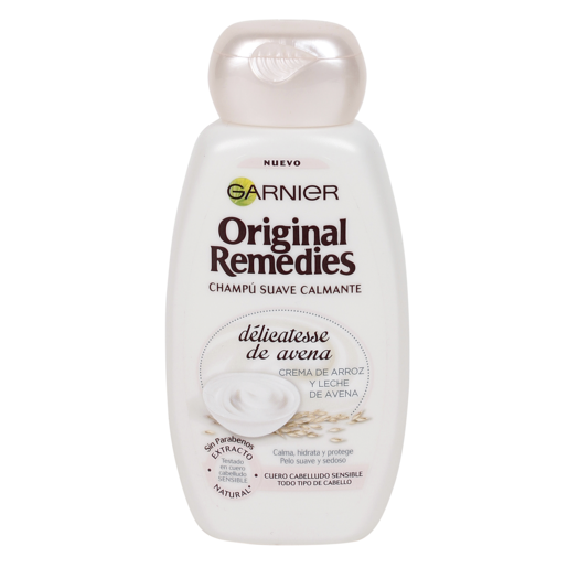ORIGINAL REMEDIES champú suave délicatesse de avena bote 250 ml