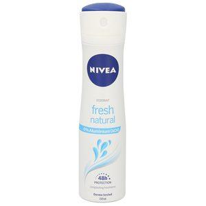 NIVEA desodorante fresh natural spray 150 ml