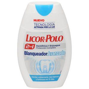 LICOR DEL POLO pasta dentífrica 2 en 1 blanqueador avanzado bote 75 ml