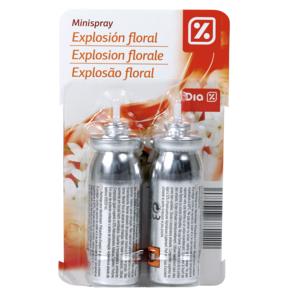 DIA ambientador mini spray aroma exploción floral recambio 2 uds