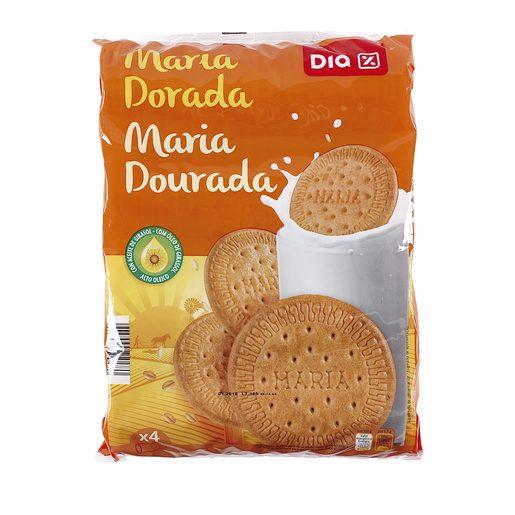 DIA galleta maría dorada paquete 4 x 200 gr