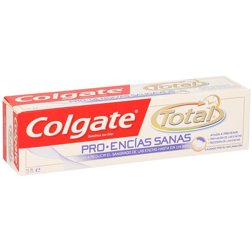 COLGATE TOTAL pasta dentifrica encías sanas tubo 75ml