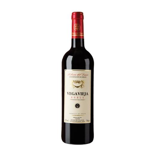 VEGA VIEJA vino tinto roble DO Ribera de Duero botella 75 cl