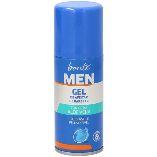 BONTE gel de afeitar piel sensible formato viaje spray 75 ml