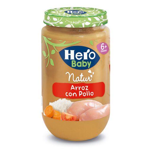HERO Baby arroz con pollo tarrito 235 gr