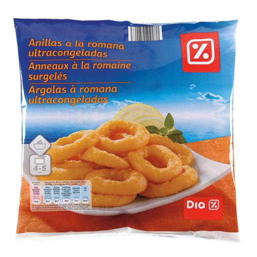 DIA anillas de calamar a la romana bolsa 500 gr