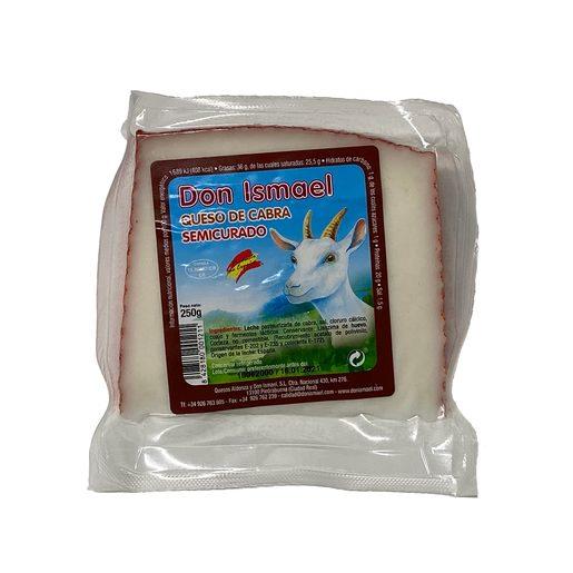 DON ISMAEL queso de cabra semicurado 250 gr