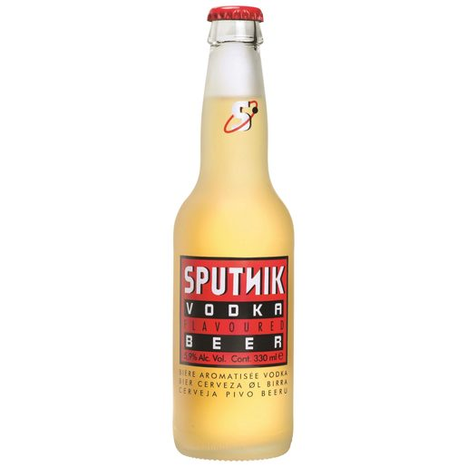 SPUTNIK cerveza con vodka botella 33 cl