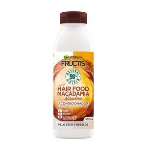 FRUCTIS acondicionador hair food macadamia bote 350 ml