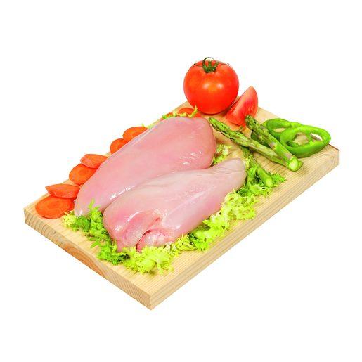 Pechugas enteras de pollo bandeja (peso aprox. 680 gr)