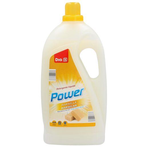 DIA detergente máquina líquido al jabón de marsella botella 54 lv