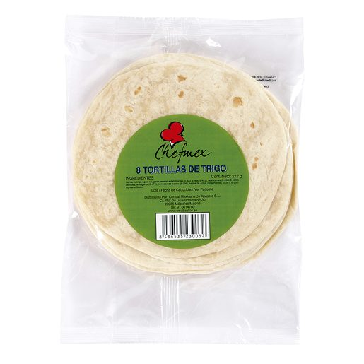 LA COSTEÑA tortilla de trigo bolsa 272 gr