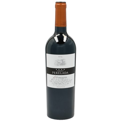 5 FINQUES vino tinto DO Cataluña botella 75 cl