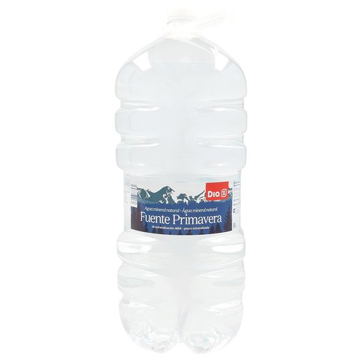 DIA agua mineral natural botella 8 lt