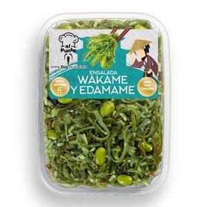 DIA AL PUNTO ensalada wakame y edamame bandeja 150 gr