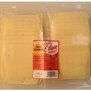 SORRANGOS queso edam lonchas envase 2 x 175 gr