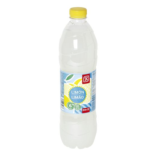 DIA refresco sin gas limón botella 1.5 lt